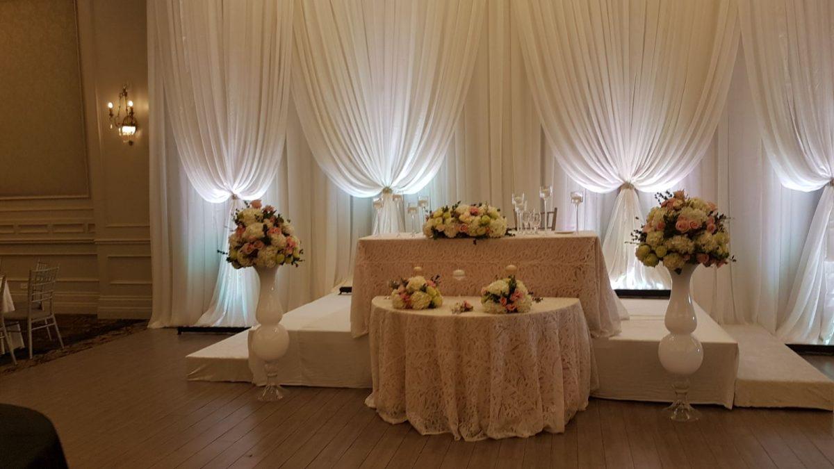 Wedding Flowers - Head Table