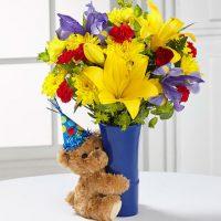 The FTD big hug birthday bouquet by Yonge flower shop, Richmond Hill.