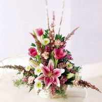 Basket of stars flowers bouquet is the wondrous floral arrangement of assorted flowers.