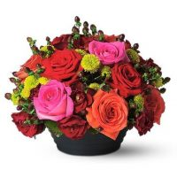 Flowers Arrangement by GTA flower shop is the best floral Valentine's day gift.