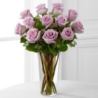 Lavender Rose Bouquet by FTD - Women's College Hospital Toronto - Flower delivery Richmond Hill. Yonge flower shop- local florists Richmond Hill