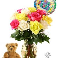 Rose birthday flowers for your special ones on their birthdays