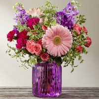 The Purple Prose Bouquet - Same Day delivery in GTA & Michael Garron Hospital East York - Markham flower delivery