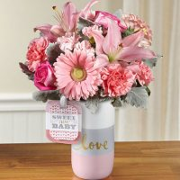 The FTD Sweet Baby Girl Bouquet - Same Day Delivery in GTA & Princess Margaret Hospital Toronto - flower delivery Whitby – Toronto Flower delivery