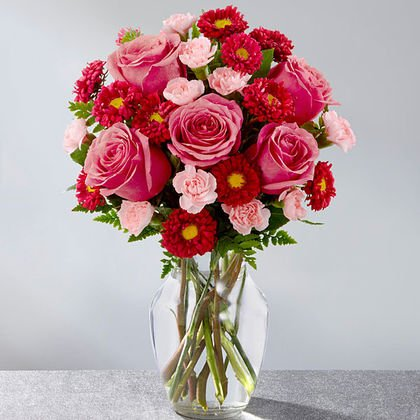 Precious heart bouquet is a piece of your heart for your loved one.