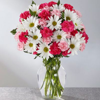 Happy birthday gif bouquet is an embodiment of love and care on birthdays
