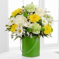 The Color Your Day With Joy Bouquet - Same Day delivery for GTA & St. Joseph's Health Centre Hospital Toronto- flower delivery Pickering- Florists Pickering