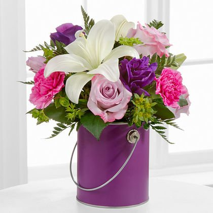 the color your day bouquet - Same day delivery in GTA & Toronto Western Hospital - Flower deliver Milton - florists near me