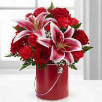 FTD Flower Arrangements for Valentine's Day. Best floral gift for Valentine's day.