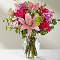 The FTD Pink Posh Bouquet