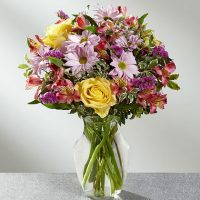 The True Charm Bouquet - Same Day Delivery in GTA & High Park Health Centre Toronto - Vaughan flower delivery - Florists near me