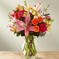 The FTD into the woods bouquet is the most bountious birthday gift for you
