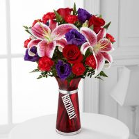 The birthday wishes bouquet to celebrate the birthdays of your loved ones.