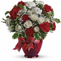 The December flower bouquet is the Santa Clause for your birthday.