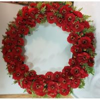 Poppy Remembrance Wreath