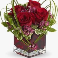 Valentine's day flowers bouquet is the floral gift for your sweet heart.