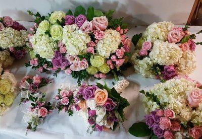 Package floral wedding