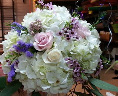 wedding centerpieces hydrangea