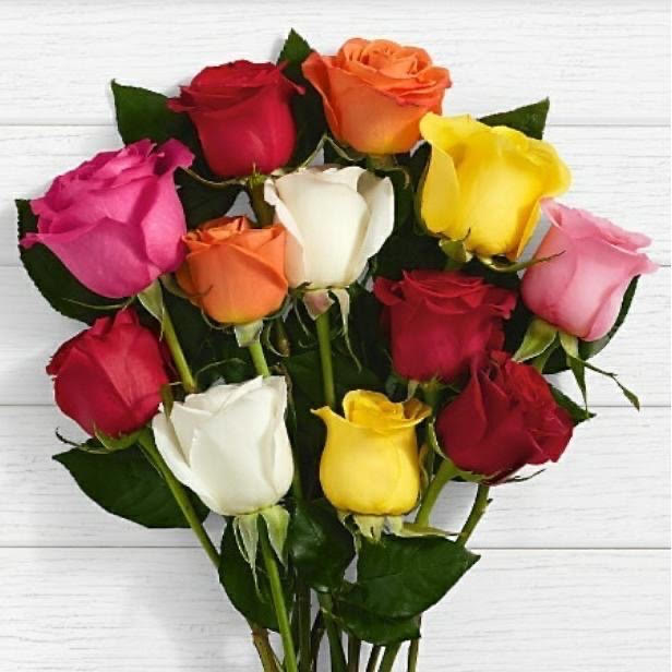 12 Roses Bouquet for you - Same Day Delivery anywhere in GTA - Toronto flower delivery- flower delivery King - Florists King - 10% Off for you- Best Buy – Florists near me – Yonge flower shop – Florists Canada