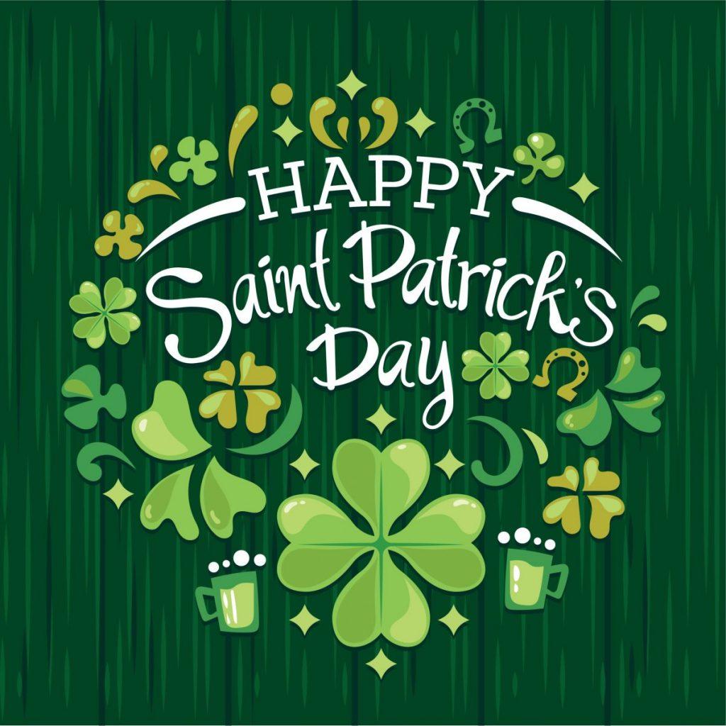 Saint Patrick's Day Flowers