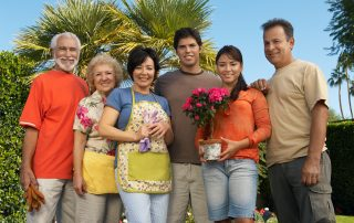 Family Day Flowers