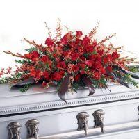 Deeply Adored Casket Flowers